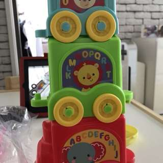 Fisher price stack and roll Choo Choo train toy