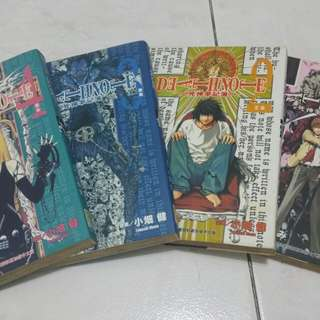 FREE! Death Note comic book 1-4