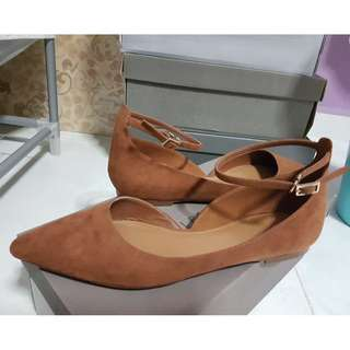 Ankle Strap Flats shoe