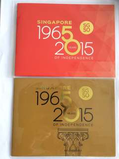 1965-2015 SG50 Mint Stamps