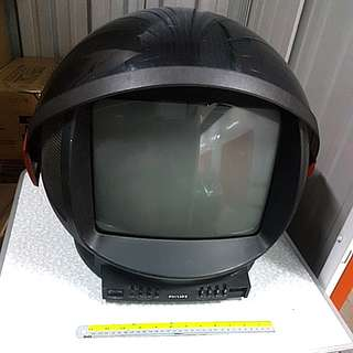 Rare retro phillips discovery tv