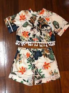 Summer top shorts
