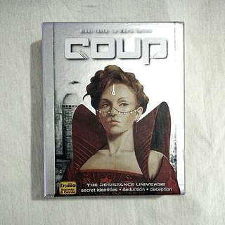 Coup Cards Board Game