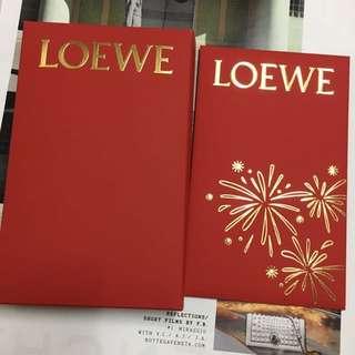 Loewe red envelope x 10