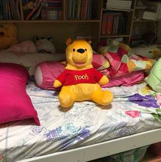 Winnie The Pooh Stuff Toy with tag