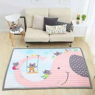 Extra Thick, Anti-Slip & Washable Play Mat