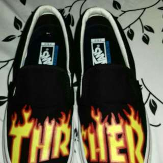 Vans slip on threasher