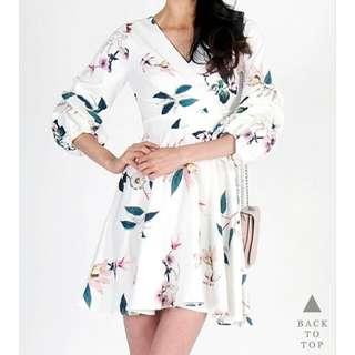 Lovet floral kimono dress