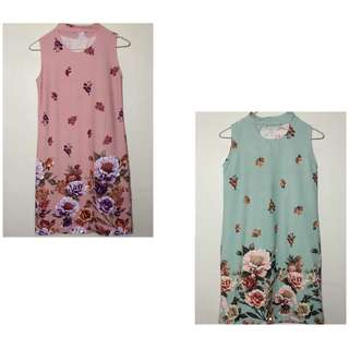 2 for 450!! Trendy floral dresses