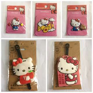 BN Hello Kitty Tags & Magnets