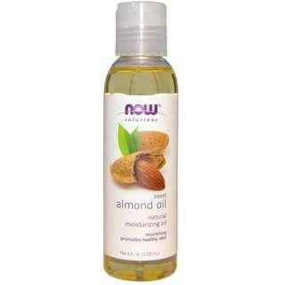 Sweet Almond Oil, 4 fl oz (118 ml)