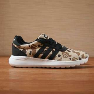 Adidas Cloudfoam Camo Brown