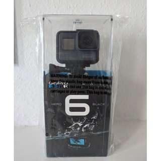 GoPro Hero 6 Action Camera Black BRAND NEW and UNOPENED + Karma Grip