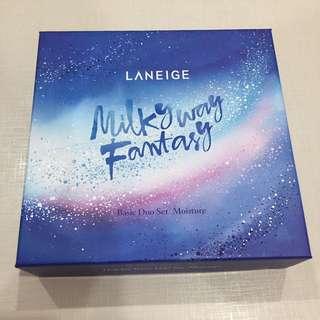 BNIB Laneige Milky Way fantasy holiday basic duo set moisture