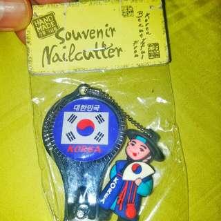 Korea souvenir nailcutter