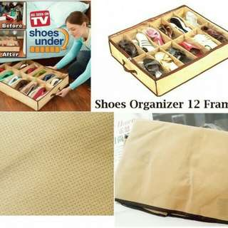 Shoes under organizer ,rak sepatu praktis