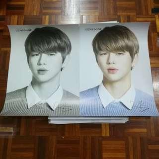 Kang Daniel Lens Nine Poster