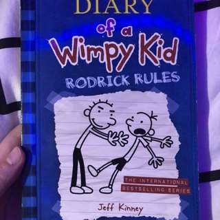 Diary of a wimpy kid book 1 - 4