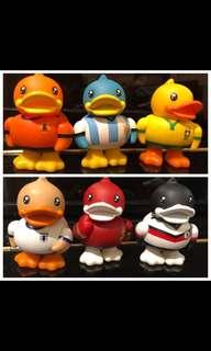 一套六隻,足球迷,係一定 Duck 🤘🏻🤘🏻
