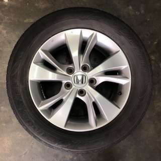 "16"" Used Rim & Tyre"