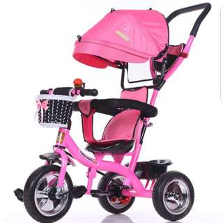 Kids Bicycle/children bike/tricycle with umbrella and cushion
