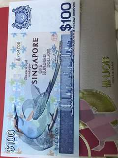 $100 note!!!