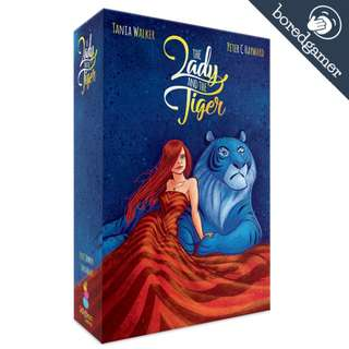 (KS)The Lady and the Tiger Board Game