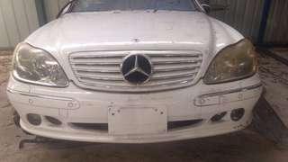 Mercedes w220 front & rear bumper