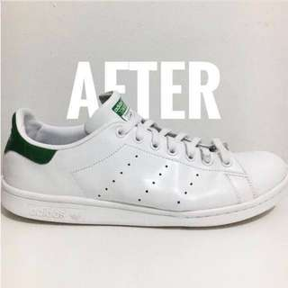 SHOE CLEANING & RESTORATION SERVICES 👟 ADIDAS STAN SMITH