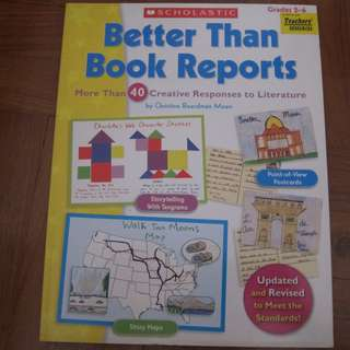 Scholastic - Better than Book Reports