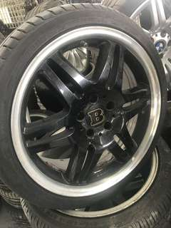 "Brabus rim 18"" original with tires"