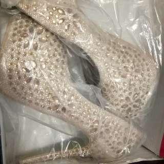 Sepatu heels import