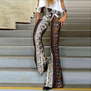 Bohemian Flare Pants (Design 1)