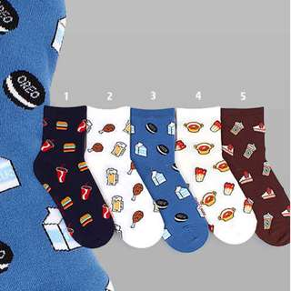 Junk Food Socks