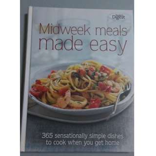'Midweek meals made easy' Cookbook