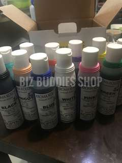 Kroma Kolor airbrush food coloring