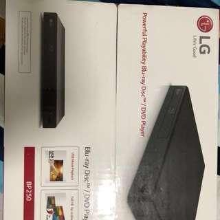 LG DVD Player blu ray