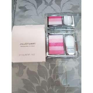Jill stuart  blooming dew oil in blush - 01 peony bouquet (brand new blusher )
