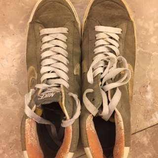 Nike grey blazer sneakers shoes US9
