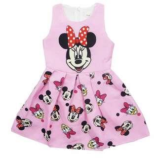 Mickey Mouse Kids Dress Ready Stock