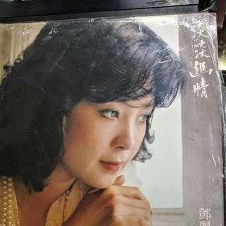 """鄧麗君經典黑膠唱碟""""淡淡幽情"""""""
