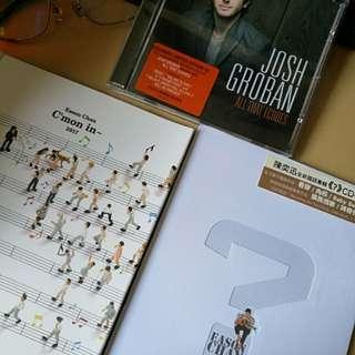 Eason Chan 陈奕迅, Josh Groban CD!! New!!!