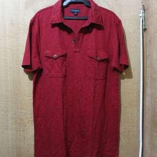 Red BANANA REPUBLIC Polo shirt
