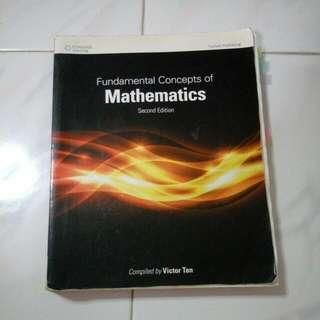 MA1100 Fundamental Concepts Of Mathematics (2nd Edition)