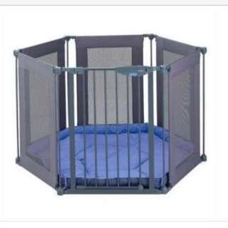 (9.5/10) Lindam Safe & Secure Baby Playpen