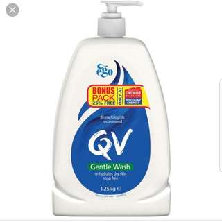 QV Gentle Body Wash 1.25kg