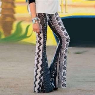 Bohemian Flare Pants (Design 2)