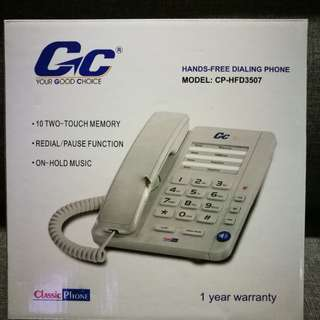 Gc Hands Free Dialing Phone