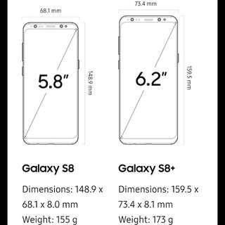 Samsung S8 screen protector