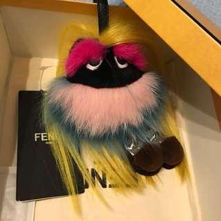 New Fendi monster charm